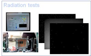 image sensors radiation test