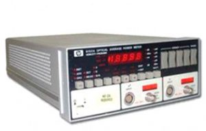 optical power meter hp8152
