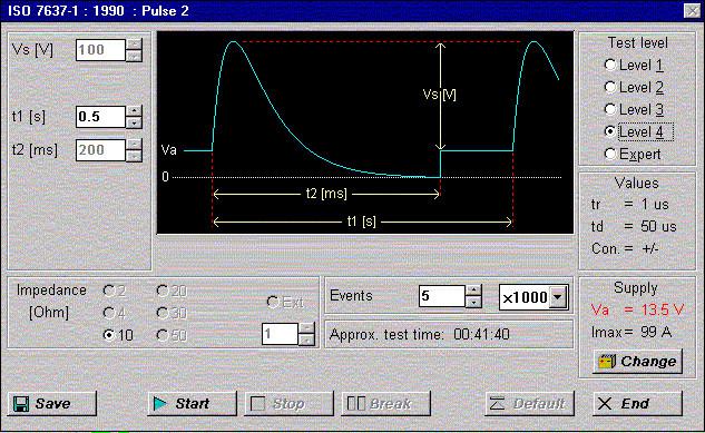 Pulse 2 ISO 7637-1