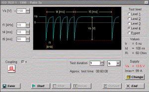 Pulse 3a ISO 7637-1