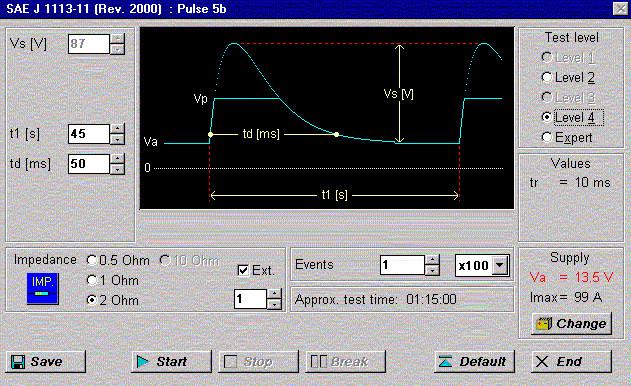 Pulse 5b SAE J 1113
