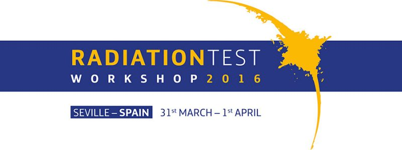 Radiation Test Workshop Seville Spain Alter Technology