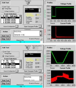 Voltage Dips Testing