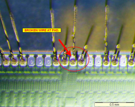 Failure Analysis Electronic Component