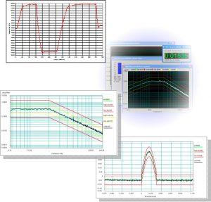vibration temperature test graphs