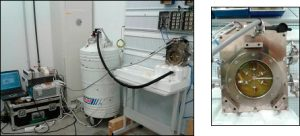 Gamma radiation set-up