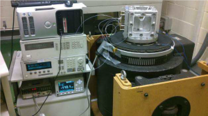 Manufacturing setup at FiberSensing