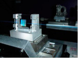 Manufacturing setup at FiberSensing