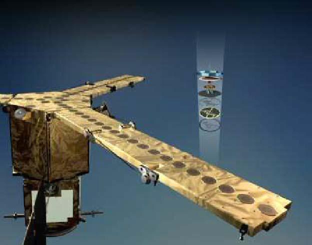 Artistic vision of the SMOS satellite