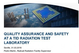 Quality Assurance and Safety Radiation Test Laboratory