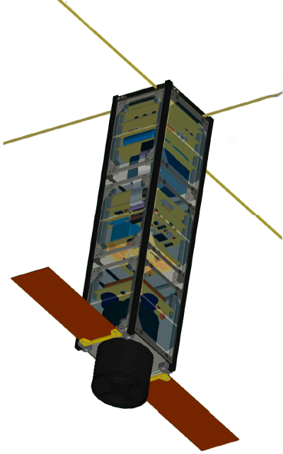 The NaoSat nanosatellite platform