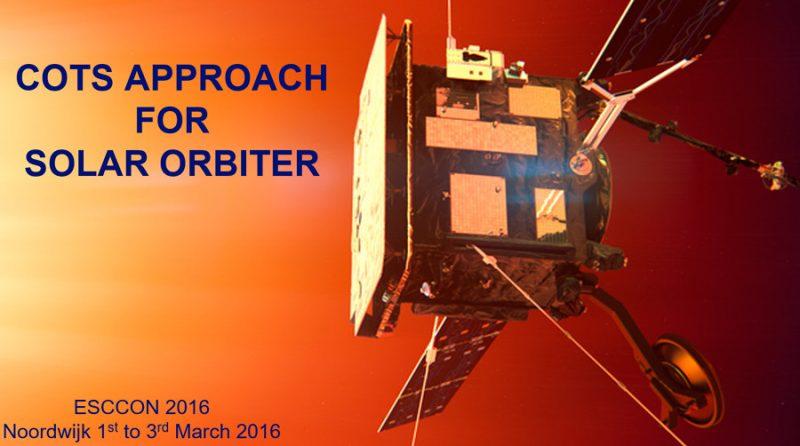 Solar Orbiter ESCCON 2016