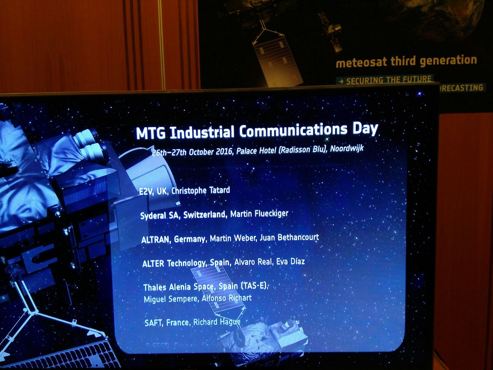 mtg industrial communications day