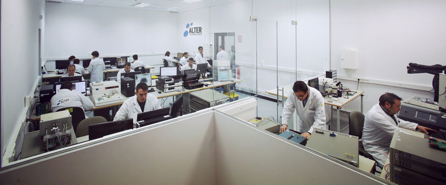 alter technology electrical measurement laboratory