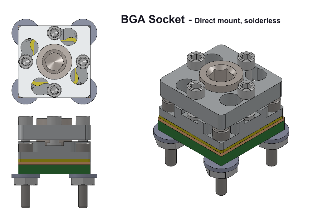 bga socket EEE Parts
