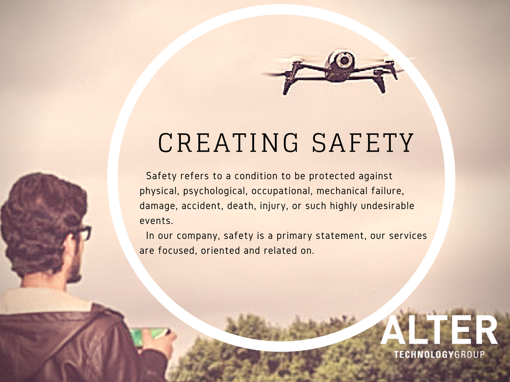 SAFETY IN DRONES