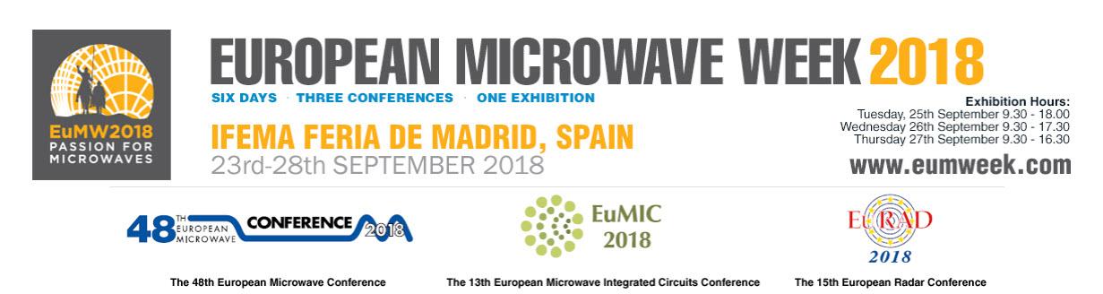 EuMC2018 European Microwave Week | Alter Technology